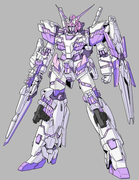 ネプギアンダム[NT-D搭載型]発動(正常)状態