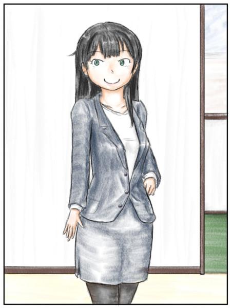 小説7巻目の挿絵3枚目