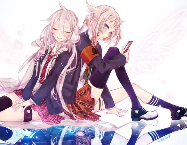 2人の天使