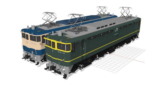 【モデル更新・3度目】EF651124トワイライト色