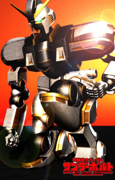 機動戦士ガンダム サンダーボルト:MMDロボットアニメセレクション.95