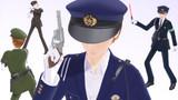 【MMD】165_03 おまわりさん(警察官)【衣装配布】