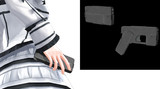 【モデル配布】スマホ型ピストル