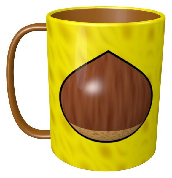 栗のマグカップ