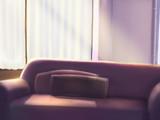 背景素材 リビングのソファ