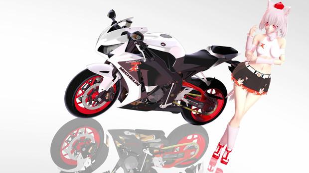 MMD RQもみじ&バイク