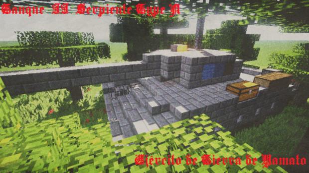 【Minecraft】2号戦車 セルピエンテ