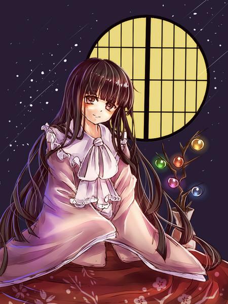 姫様と夜通しお話しませんか