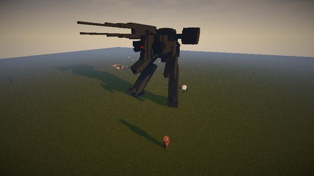 【Minecraft】サヘラントロプス作ってみた