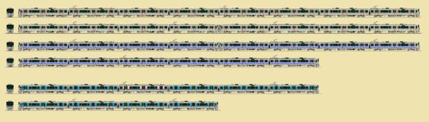 225系2次車(おまけ付き)