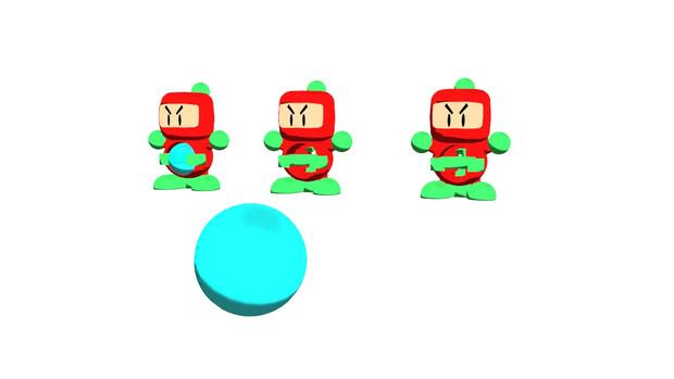 【モデル配布】ビーダマン(あかボン) ver1.1【MMD】