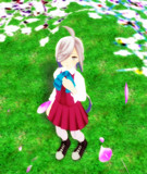 【MMD艦これ】散りゆく桜<4月7日の朝霜>