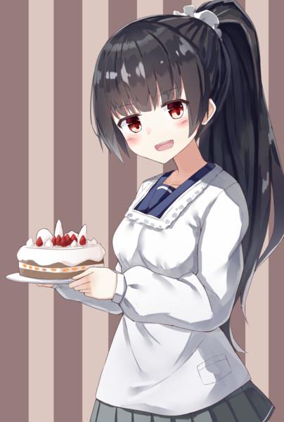 磯風さんの手作りケーキ