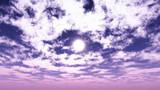 【MMDステージ配布】薄紫の朝空 PP7【スカイドーム】