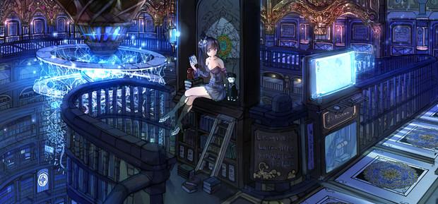 魔法科学都市 ミラード図書館