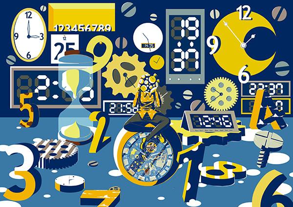 時の流れ Ryo Zka さんのイラスト ニコニコ静画 イラスト