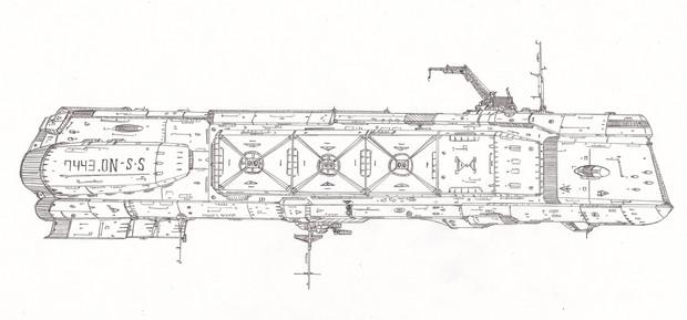 スミス級ドック船「自作艦」