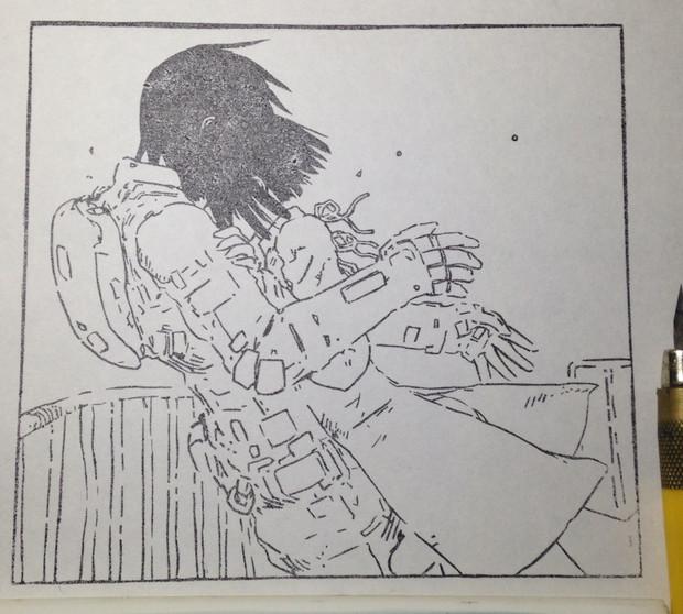 彫ってみた シドニアの騎士