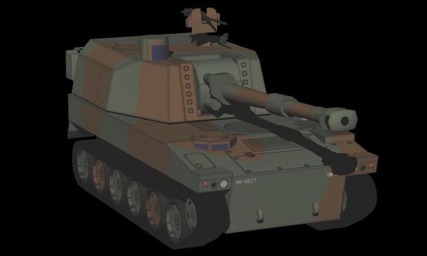 〖配布〗モブ75式自走155mm榴弾砲
