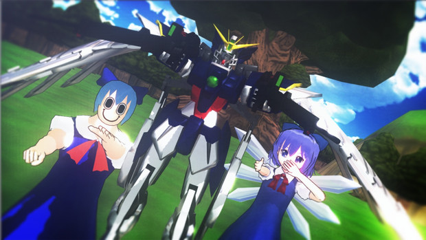 【東方MMDクロスオーバー祭】青い三連星?