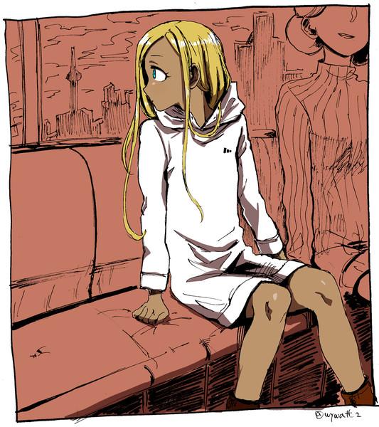 異国の少女