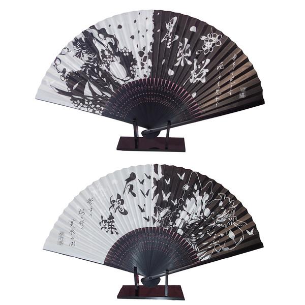 【例大祭13新作】東方和風扇子【妖夢&幽々子】