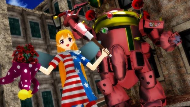 【東方MMDクロスオーバー祭】マジカルフェアリークラウンピース!