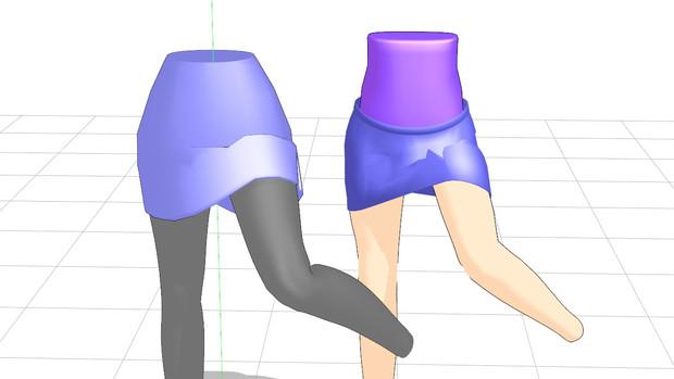 タイトスカートの構造サンプル