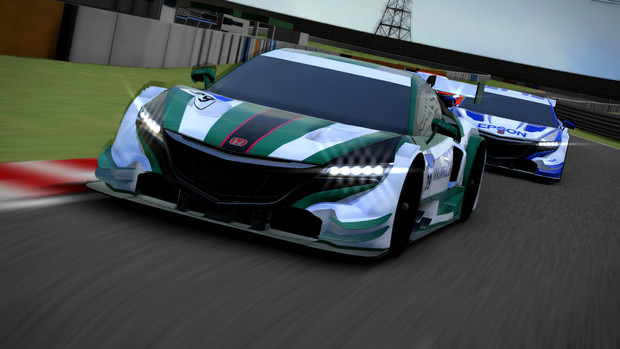 【MMD-OMF6】NSX CONCEPT-GT 配布