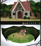 【MMD-OMF6】森のおうちステージ【ステージ配布】