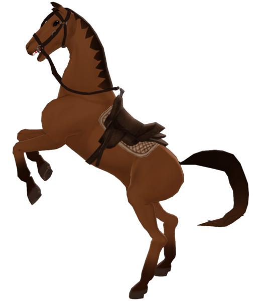 【MMD-OMF6】馬【モデル配布】