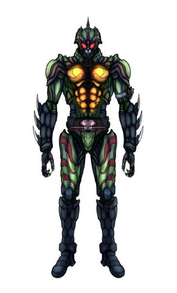 仮面ライダーアマゾンオメガ ショルダー佐藤 さんのイラスト