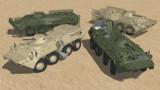 【MMD-OMF6】BTR-80装輪装甲車【配布】