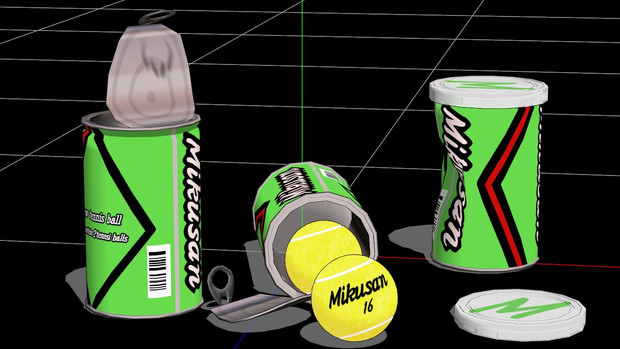 【MMD-OMF6】ボール缶セット