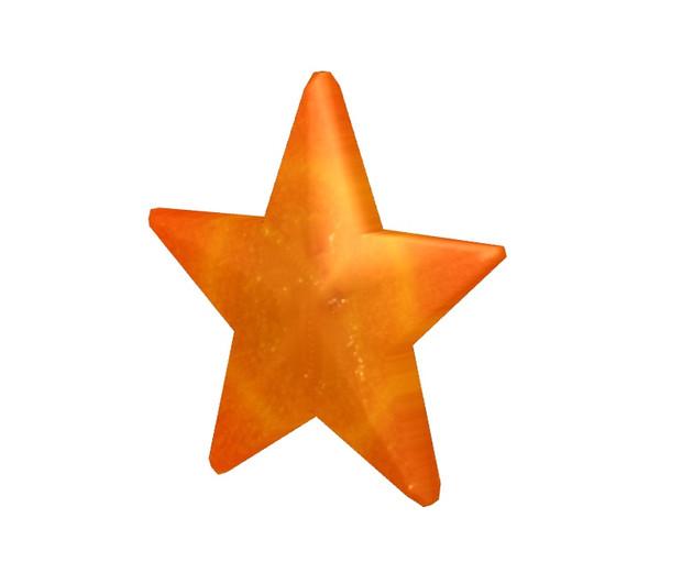 【MMD-OMF6】星型のニンジン