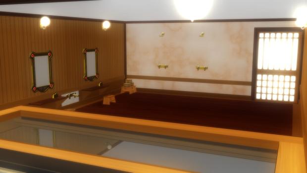(MMD-OMF6)祝福のカンパネラっぽい風呂