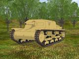 【MMD陸軍】 M41型セモヴェンテ(アンツィオ仕様)【MMD-OMF6】