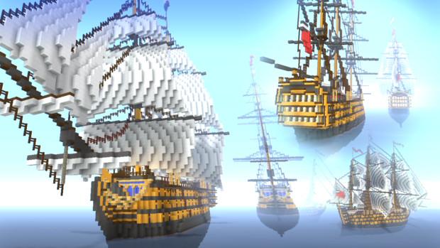 戦列艦 HMS Phalanx Minecraft Xbox One