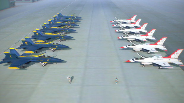 海軍VS空軍