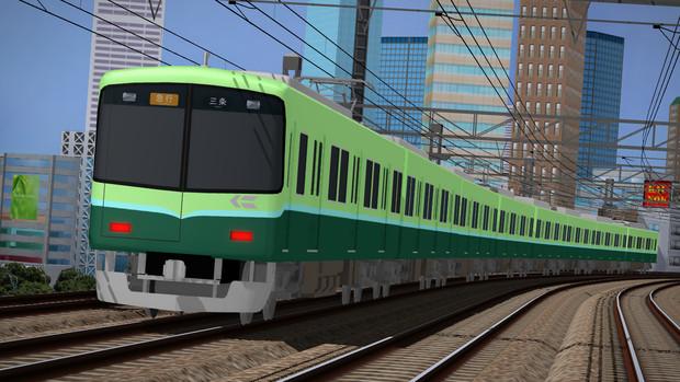 【MMD-OMF6】京阪電鉄9000系 配布