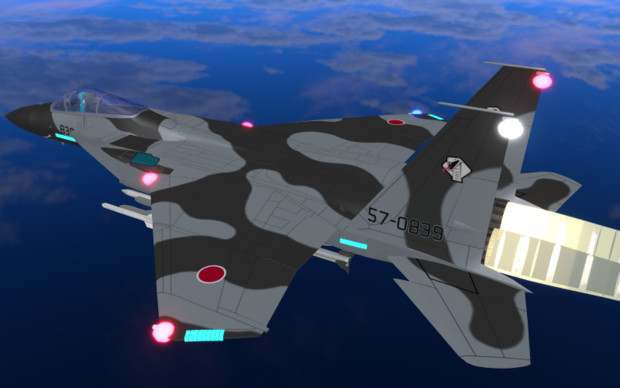 【OMF6】F-15J_アグレッサー[くろ]