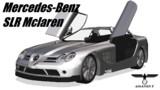 【MMD-OMF6】メルセデス・ベンツ SLRマクラーレン【MMDモデル配布】