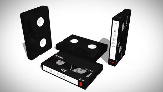 Mmd Omf68ミリビデオカセットテープ Hi8 Gb 01a さんのイラスト