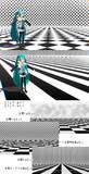 【MMD-OMF6】白黒ステージ