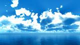 【MMDステージ配布】夏の雨雲 SS1【スカイドーム】