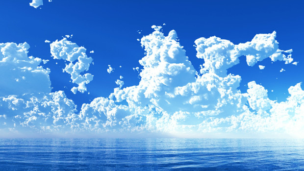 MMDステージ配布】沸き立つ夏雲 ...