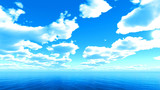 【MMDステージ配布】のどかな青空 SS6【スカイドーム】