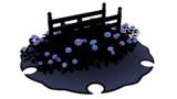 12_紫陽花と橋のステージ_紫ver
