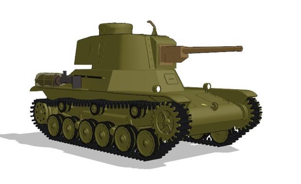 試製五式軽戦車 ケホ - 戦車研究室