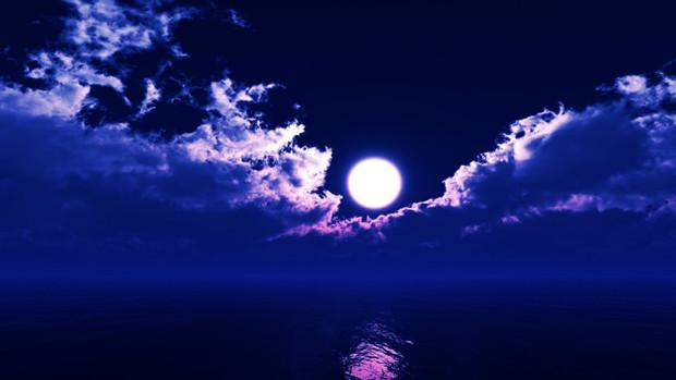 【MMDステージ配布】薄紫の夜空 TT2【スカイドーム】